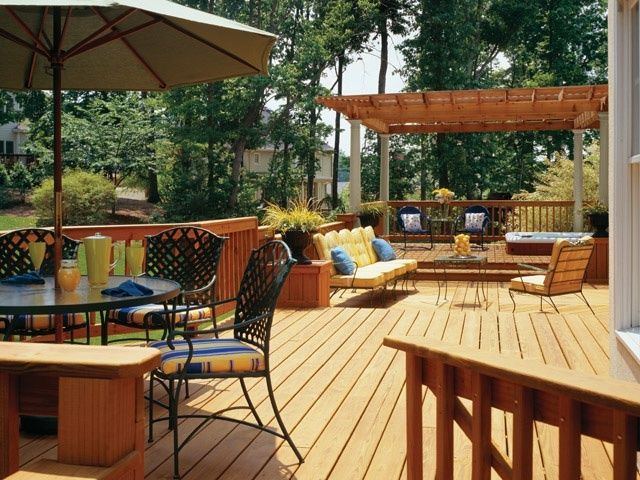 17 best images about deck patio ideas on pinterest for Uncovered patio ideas