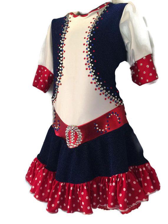 Figure Skating Dress-Custom Made Competition by spiralsdesignscom