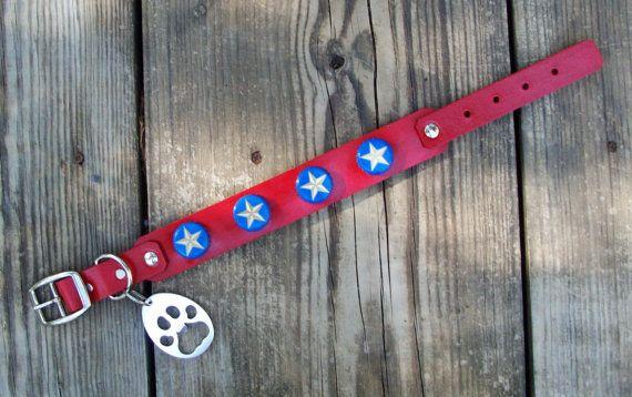 Beer Cap Dog Collars