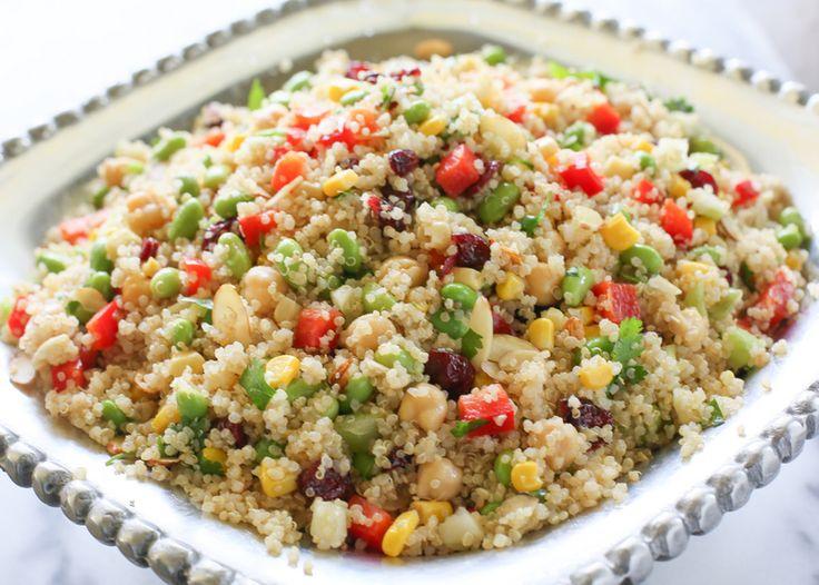 Edamame Quinoa Salad   The Girl Who Ate Everything
