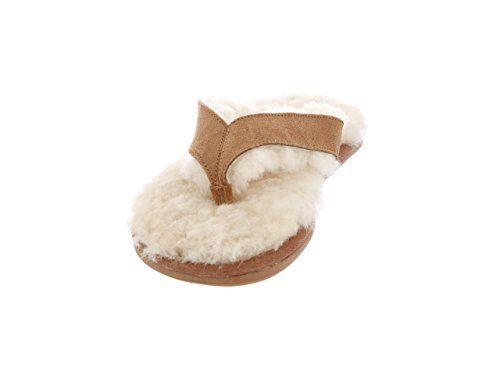 RJ'S FUZZIES Sheepskin Chestnut Womens Flip Flops Size 8 ... https://smile.amazon.com/dp/B00NU8J1GS/ref=cm_sw_r_pi_dp_x_KPCwybM59P44Z