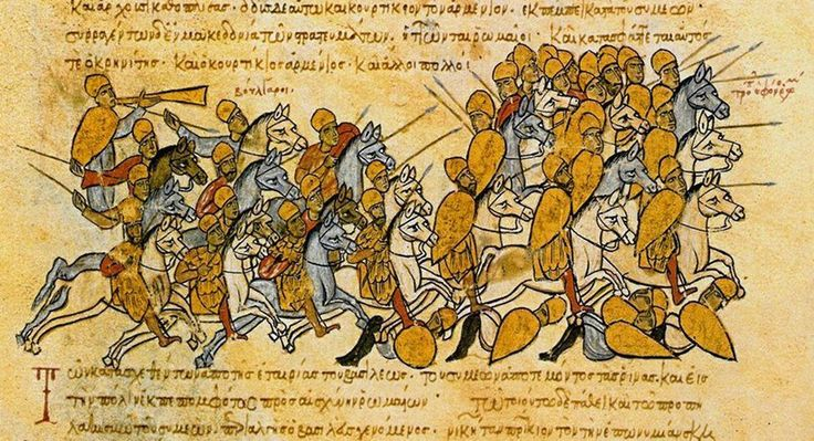 The early Eastern European people known as the Bulgars established an empire in the Balkans that would face off against Byzantium.