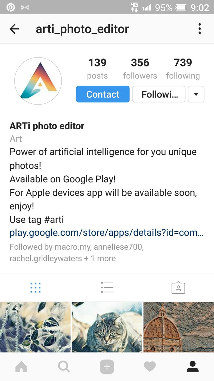 @ https://www.instagram.com/arti_photo_editor/ - 🎨#ARTi - @ARTi_Photo_Editor🎬🌈 { Effects x 61*+%+Sizes } ~ by Neural-Labs - Apps that use Algorithms of ARTificial intelligence to Perform the daily Tasks. ~ A huge number of Photo Filters and the Ability to Fine-Tune Effects. #ARTi #ARTiApp #ARTiPhotoEditor #ARTiEffects _