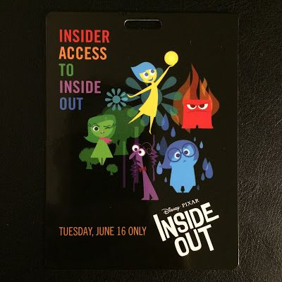 Pixar Post - For The Latest Pixar News: Giveaway - 'Inside Out' Insider Access Pixar Studios Tour Video