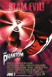 The Phantom Poster  A Superhero with no powers until the last two minutes of the film.  He has a nice smile and a devoted horse.  Enjoy?