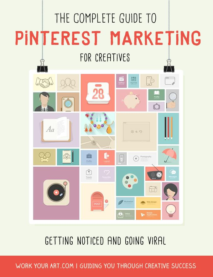 Pinterest marketing: getting noticed and going viral   http://www.workyourart.com