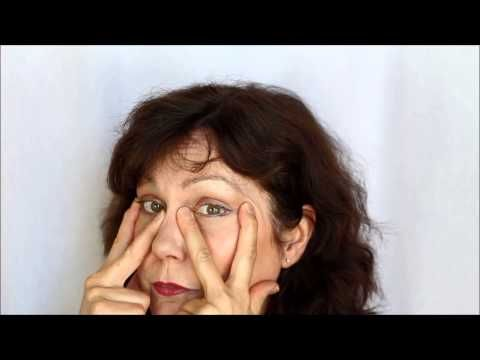 How to Remove Bags From Under Your Eyes with Face Exercises!!!!! - YouTube