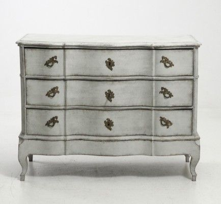 Antique Scandinavian Chest of Drawers, 1750 1