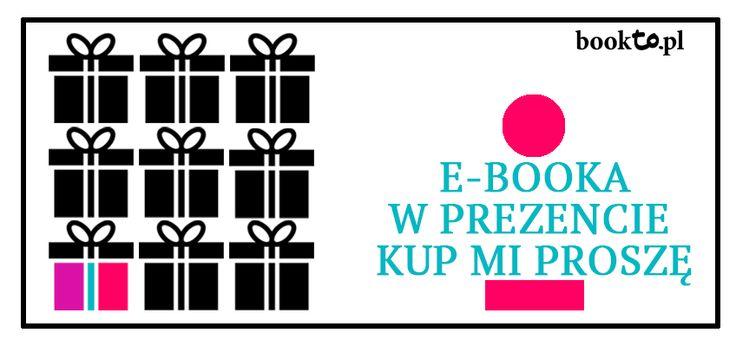 Pomóż sobie kupić wymarzony prezent. Udostępnij wpis z bloga, a w komentarzu podaj tytuły e-booków, które chciałbyś otrzymać lub wskaż, że wolałabyś/wolałbyś bon podarunkowy. Być może ktoś bliski Cię zaskoczy Gdzie i jak kupić e-booka w prezencie? Zapraszam do lektury nowego wpisu na blogu. http://bookto.pl/blog/2014/12/kup-na-prezent