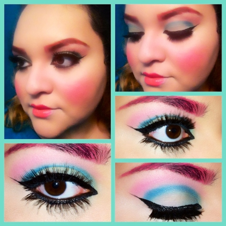 Monster High , C A Cupid inspired makeup