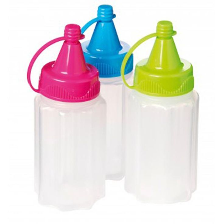 Take your own condiments on the go with these Klip It To Go Condiment Bottles. Taking your condiments separately means you keep you lunch fresh and delicious until you are ready to eat!