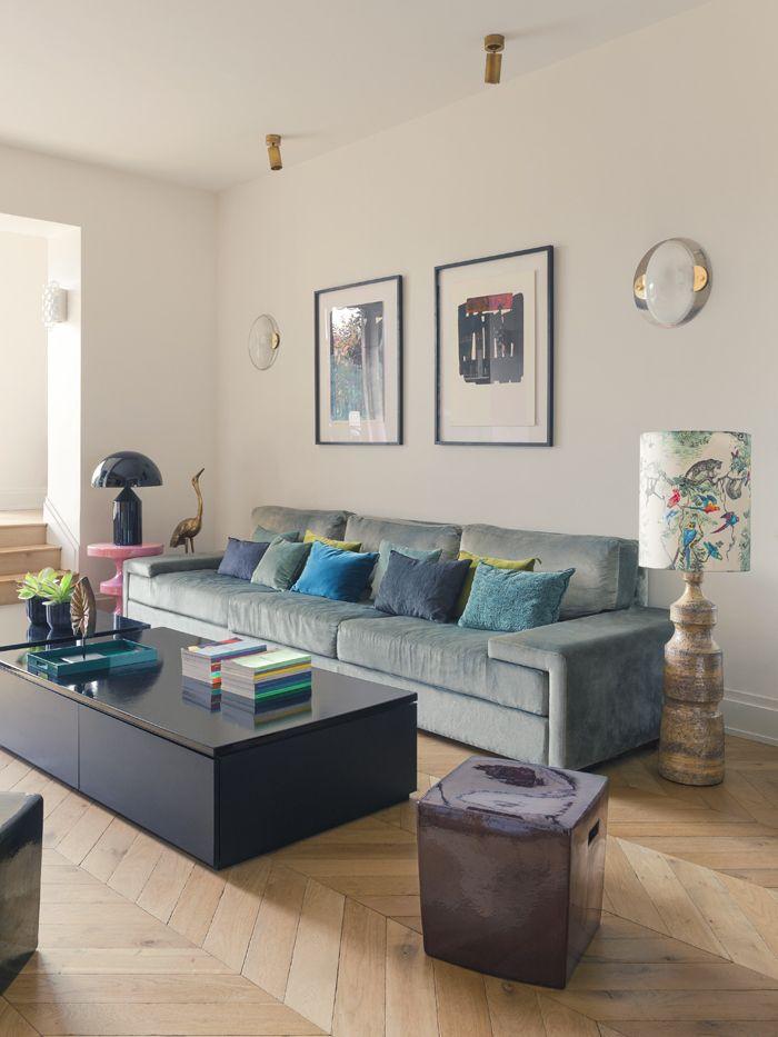les 615 meilleures images du tableau salle de sejour sur pinterest espaces de vie penthouse. Black Bedroom Furniture Sets. Home Design Ideas