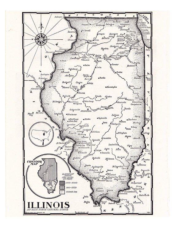 on digital map central
