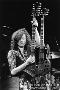 Jimmy Page   Live - MSG, NYC, 1975