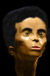 Reconstruction of the Star Child skull found in mexican cave. DNA shows unknown for father...look up on internet