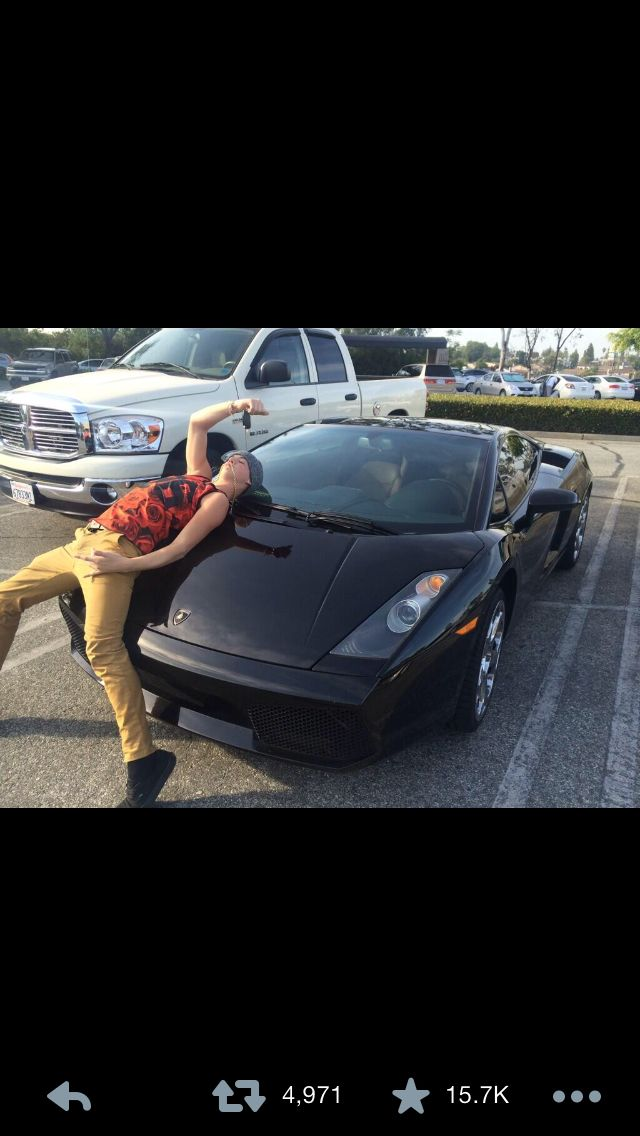 Taylor Caniff And His Newest Car Magcon And O2l