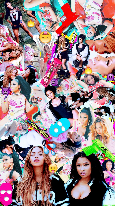 Beyoncé & Nicki Minaj Feeling Myself