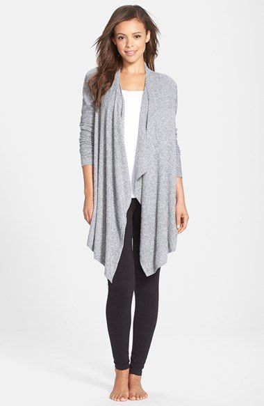 Barefoot Dreams® Drape Front Cardigan (Nordstrom Exclusive) | Nordstrom