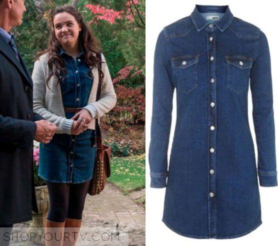 Good Witch: Season 2 Episode 2 Grace's Denim Button Down Dress