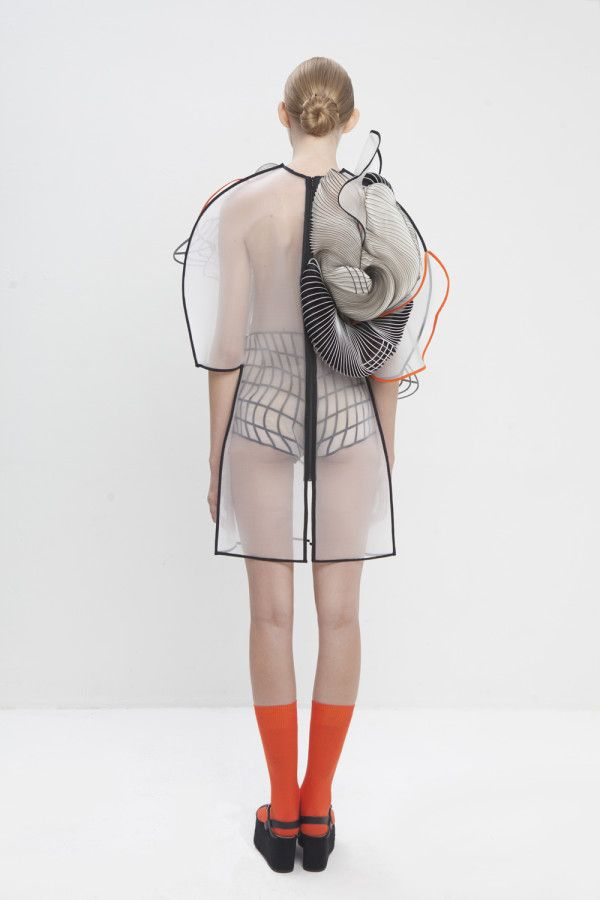 3D PRINTED FASHION COLLECTION by Noa Raviv