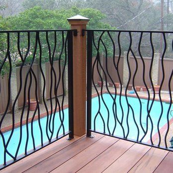 Best Custom Iron Railing Yelp Pergola Plans Roofs Fence 400 x 300