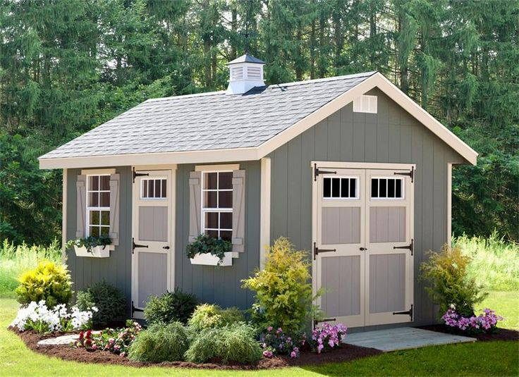 Select Options For Amish Made Riverside Shed Kit (ID: 43290)