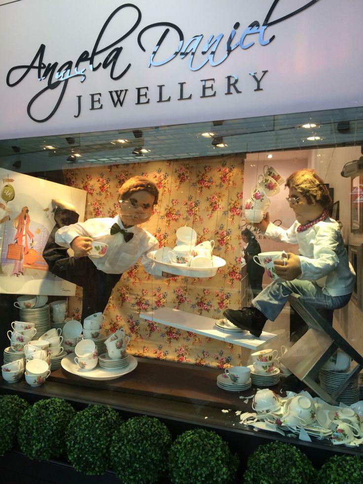 "ANGELA DANIEL JEWELLERY, Mt Wellington, Auckland, New Zealand,""Afternoon Tea, quick and easy to make.....<#%£€"",created by Ton van der Veer"