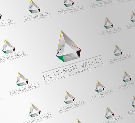 PLATINUM VALLEY logo design