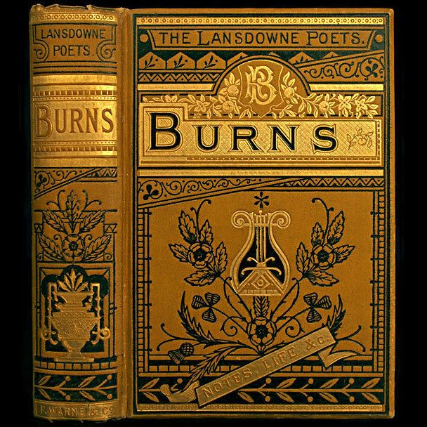 1885 ROBERT BURNS POEMS RARE ILLUSTRATED VICTORIAN GILT FINE BINDING ENGRAVINGS