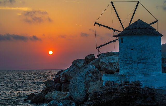 Stavros Tzovaras Photography Old windmill #Aigiali #Amorgos