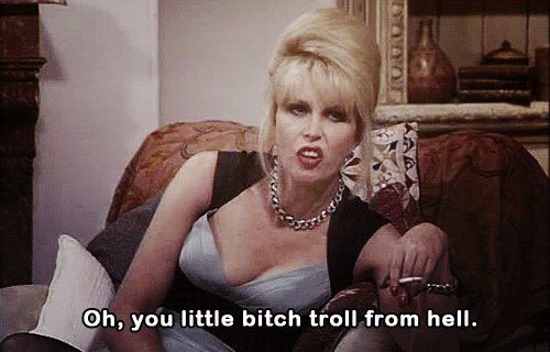The one and only Patsy Stone; Absolutely Fabulous