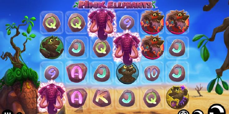 Play slot machine Pink Elephants and all of the most sought-after online casino games online. #slotmachine #PinkElephants