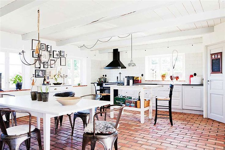 The pin-up of kitchens~