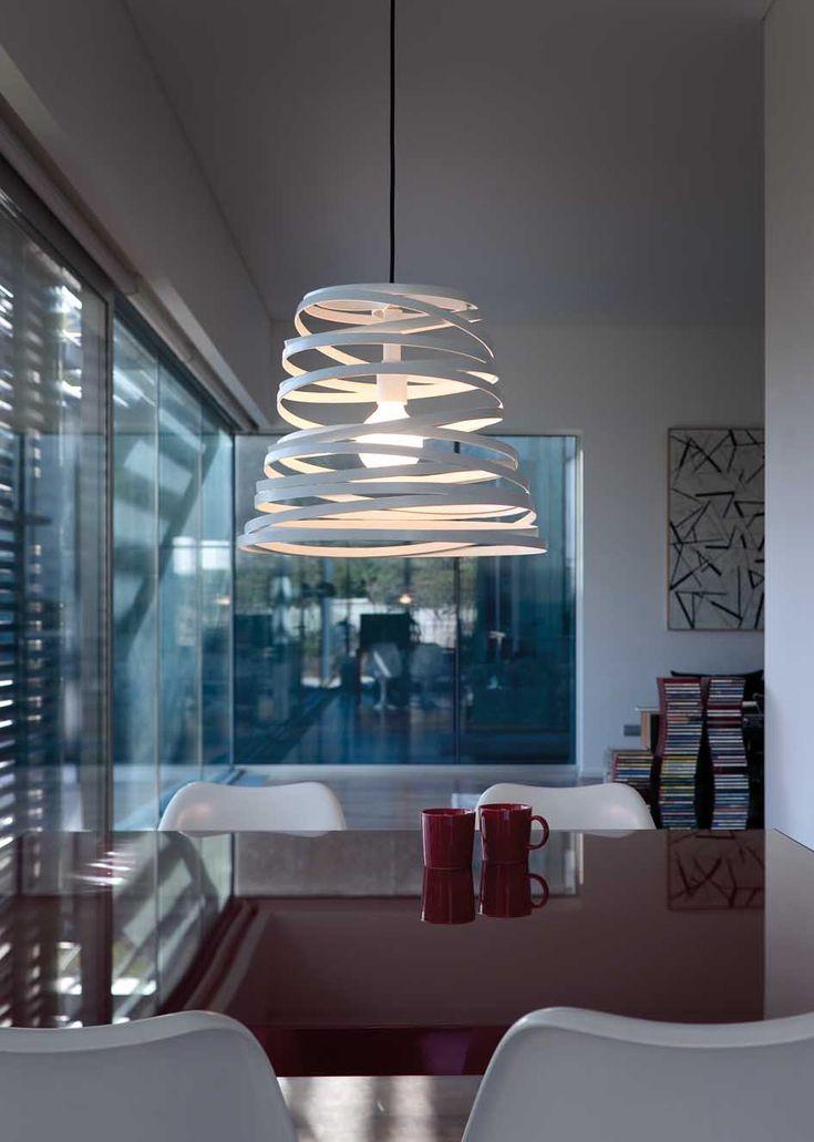 Lamparas colgantes de diseño italiano CURL MY LIGTH. Iluminacion Beltran, tu tienda en iluminacion de diseño en internet. www.lamparasyapliques.com