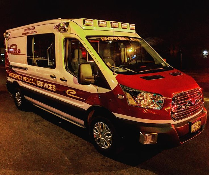 Brand New @EmpressEms Ford Transit Diesel Ambulance On Scene Of A Fire In The City Of Mount Vernon New York #ems #abulance #empress #empressems #ford #transit by ace_kus