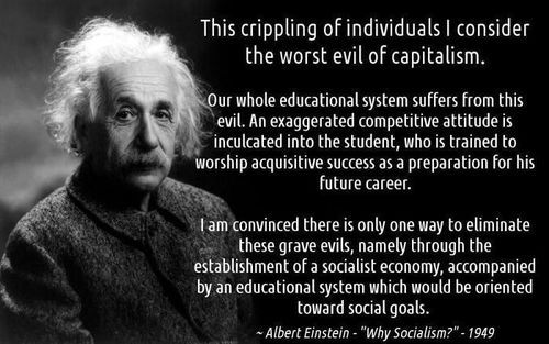 Was Albert Einstein a Socialist and write an essay called