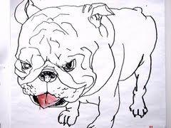 David Choe Frice Show 2006 bulldog art