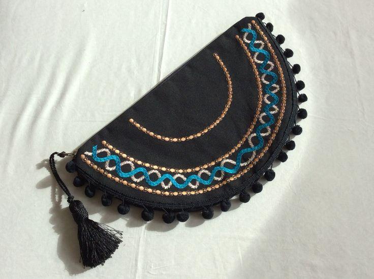 Handmade bag Christina Malle... Oval