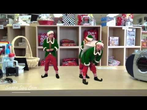 Santa Spy Cam at Dum Dums