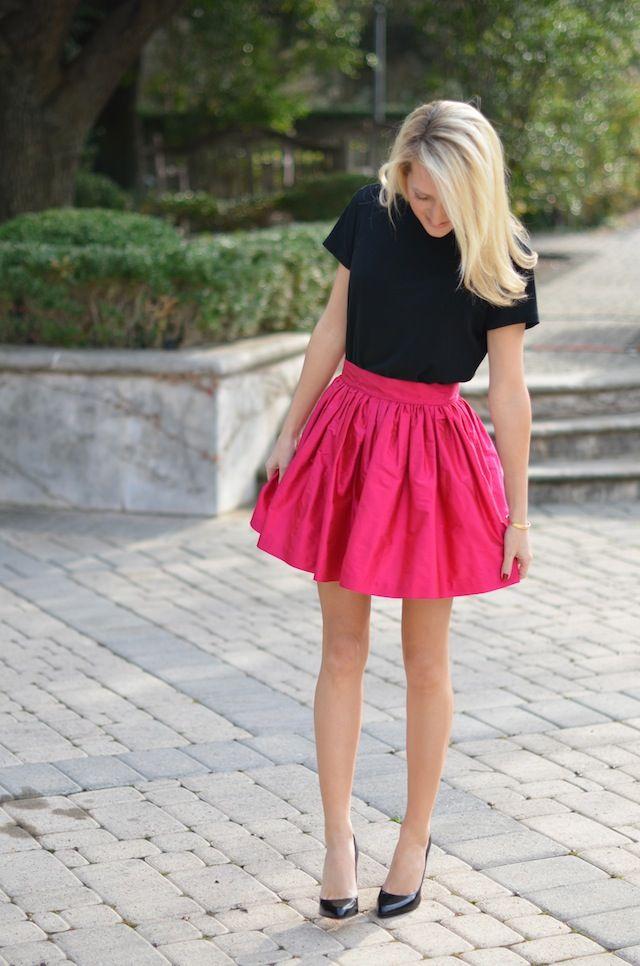 Krystal Schlegel - The Style Book - Fashion blog - New York: Party Skirt