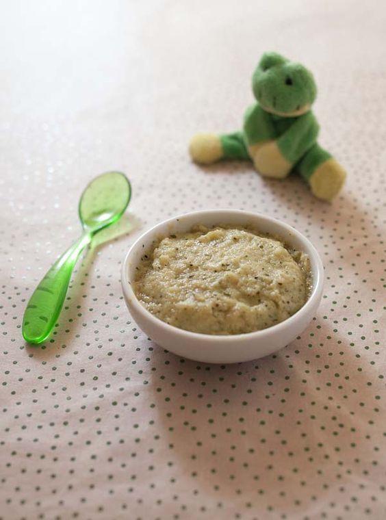Purée bébé courgette, pomme de terre, oeuf – à partir de 7 mois   Biodélices