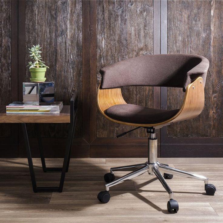 Lincoln Mid-Century Modern Desk Chair