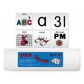 PCS Card Sets III - Symbol Sets & Libraries | Mayer-Johnson