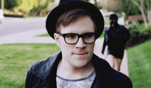 Tons of great Patrick Stump Gifs as well as links to interviews and videos!