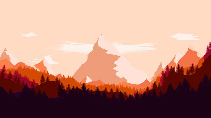 @Behance projeme göz atın: \u201cflat landscape\u201d https://www.behance.net/gallery/52292249/flat-landscape