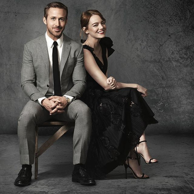 Ryan Gosling and Emma Stone by Tim Palen for ''La La Land'' Promo #ryangosling #emmastone #lalaland