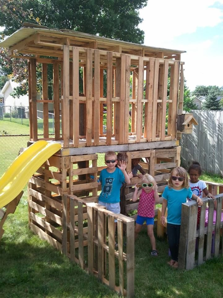My kids and I made this with 100% Reclaimed Materials.