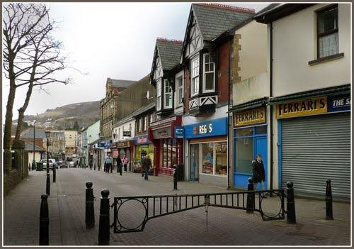 Abertillery, Wales - Church Street Abertillery