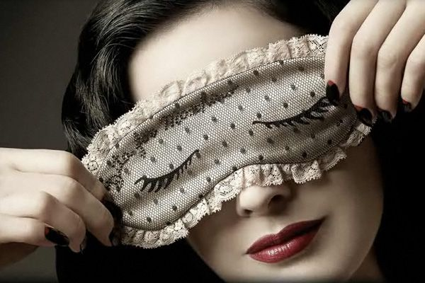 hope I look this glamourous when I'm sleeping with my mask!