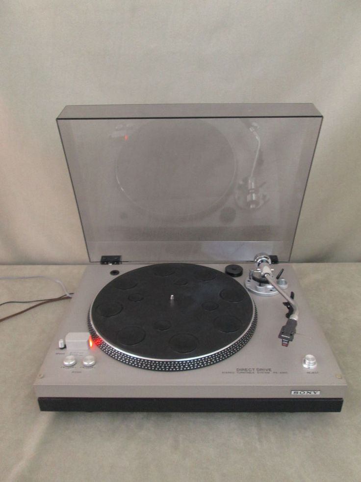 Details About Sony Ps Lx250h Automatic Stereo Turntable